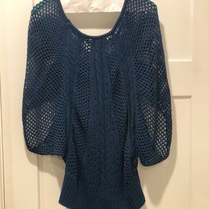 Miss Kelly 1999 Sweaters - SALE- Dolman Sweater Turquoise